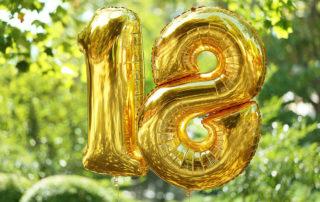 18. Geburtstag im Garten