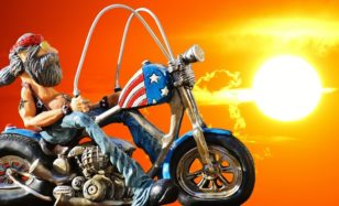 Mit Easy Rider in die Disko