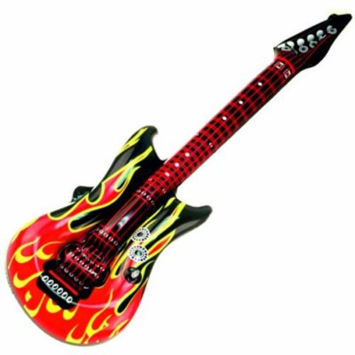 Rocker Luftgitarre