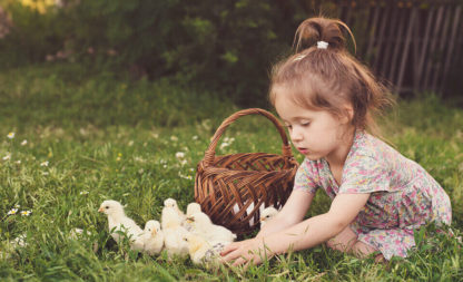Ostereiersuche und Heringsbegräbnis