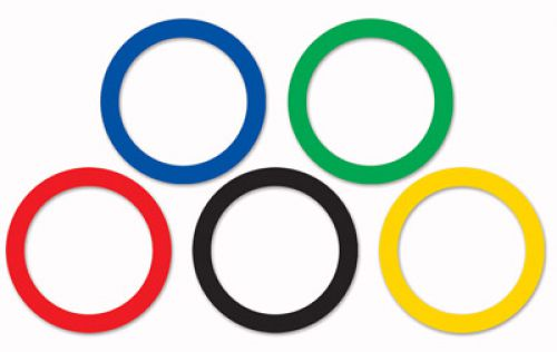 So Möchtest Du Spielerisch Den Olympischen Gedanken Verinnerlichen, Mit  Einer Olympiade Auf Brasilianisch. Dekoriert Mit Reichlich Brasilianische  Farben, ...