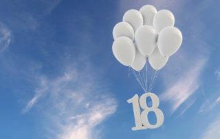18 Geburtstag Freiheit