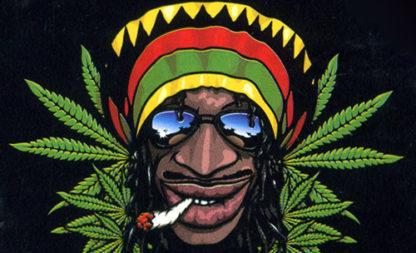 Alt-Hippies mit bekifften Räucherstäbchen