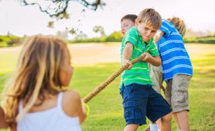 Coole Spiele fürs Ferienlager