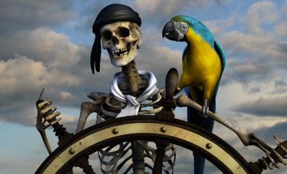 Schatzkarten für hungrige Piraten