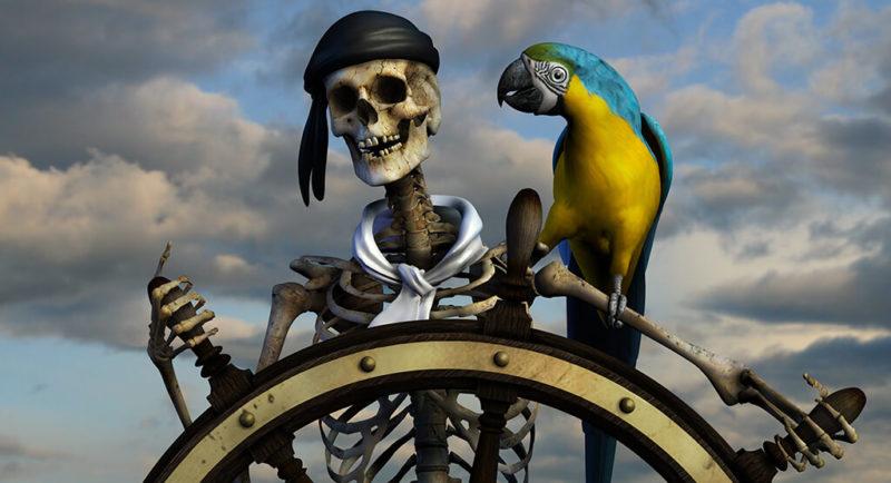 Party Motto Piraten