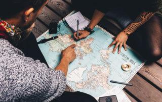Weltreise Party Deko, Deko Ideen Weltreise