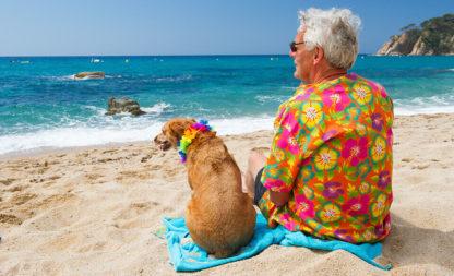 Im Hawaii-Hemd auf der Magnum-Insel