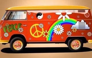 Hippie Deko