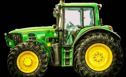 Mit dem Traktor auf die Fete