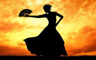 spanische Tänzerin