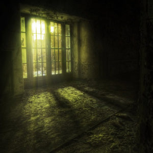 Gruselparty verfallenes Haus