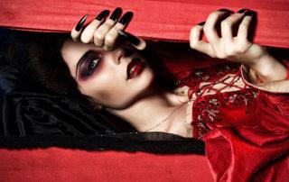 Halloween Vampir Lady