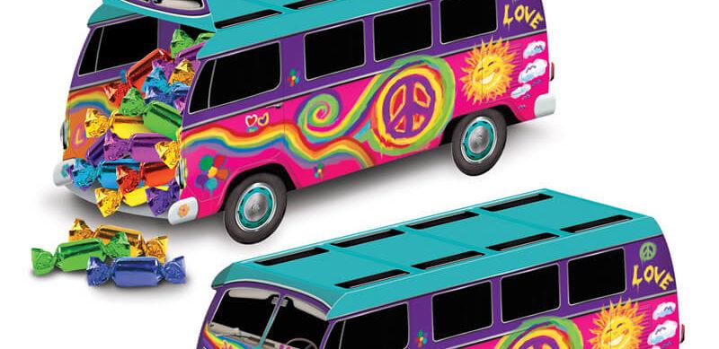 Die richtige Deko für deine Hippie-Party: Mach' mit uns eine Zeitreise in die wilden 60er & 70er Jahre