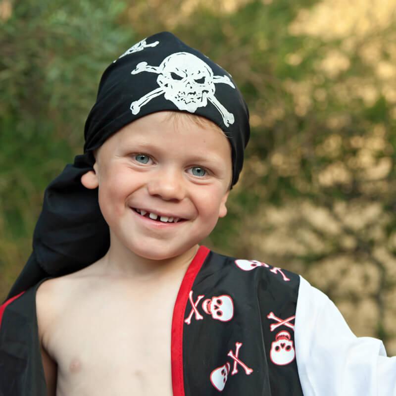Kindergeburtstag Pirat mit Schatzsuche