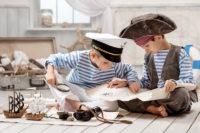 Schatzsuche - Spielideen zum Piratengeburtstag