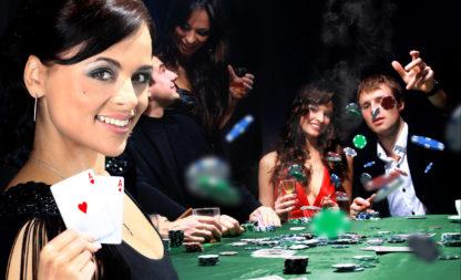 Casino Party. Wenn die Würfel rollen und die Karten fliegen …