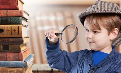 Pssst … Sherlock Holmes in geheimer Mission – Krimiparty für Kinder