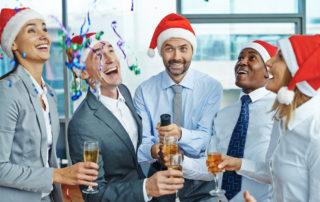Firmenweihnachtsfeier Deko