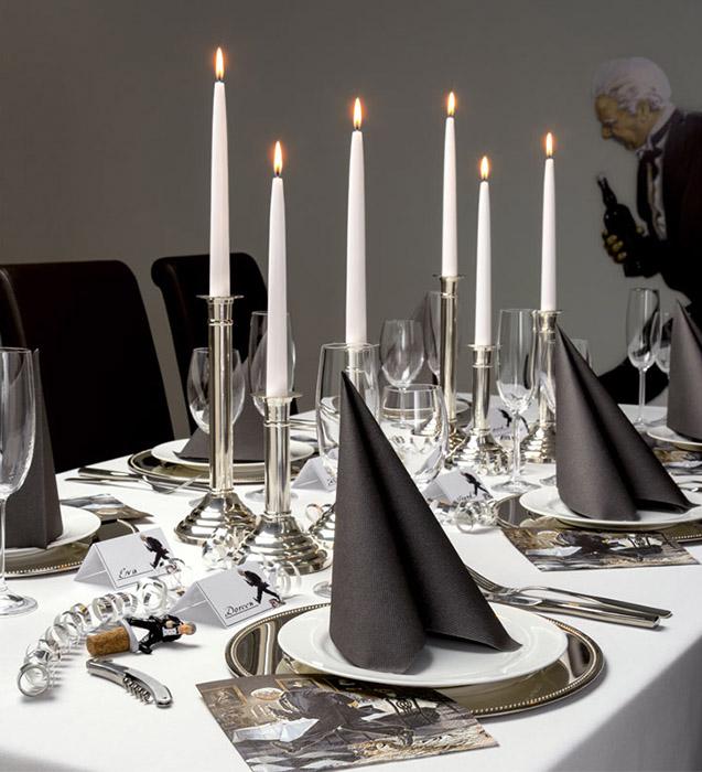 Dekoration Dinner for One