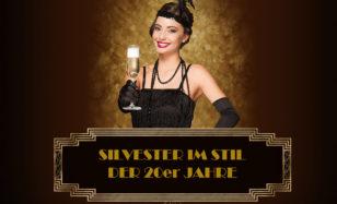 Glanz und Glamour an Silvester – dein Event im Stil der Roaring Twenties