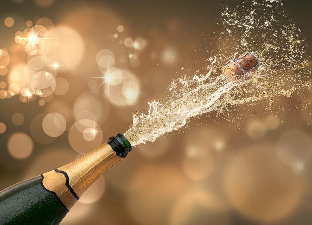Neujahr Partyideen