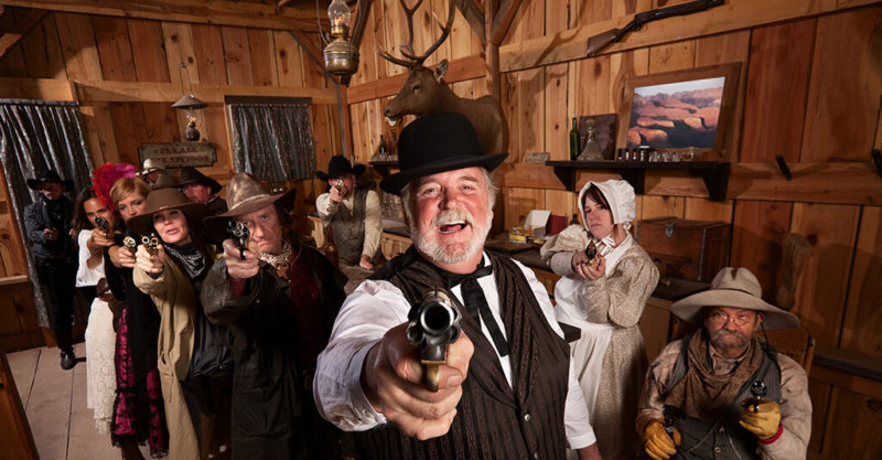 Saloon Westernparty