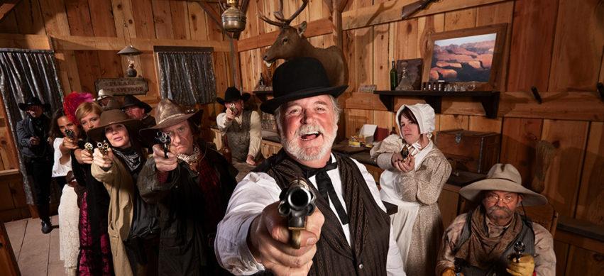 Deine Silvesterparty im Western Style