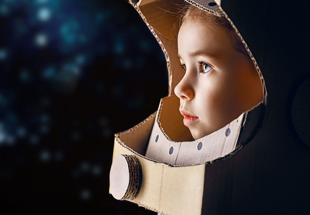 Geburtstag Motto Weltraumparty