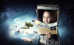 Weltraum Party – auf zum Mond! Einmal Astronaut sein!