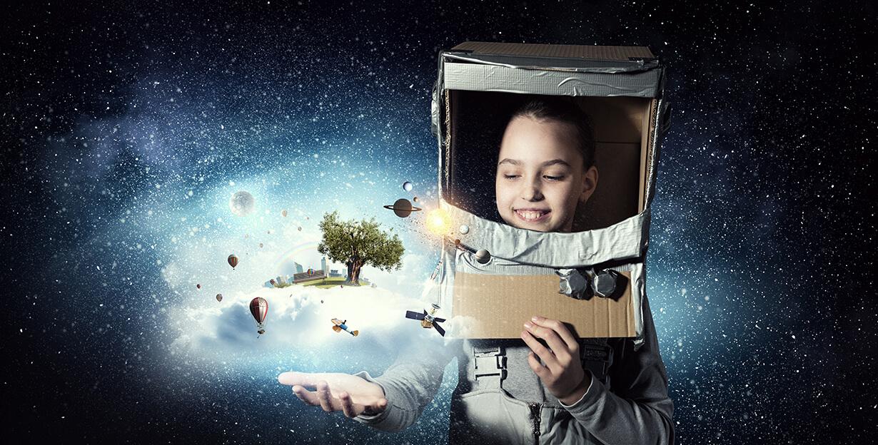 Astronauten Weltall Und Raketen Kinderparty A La Captain Kirk