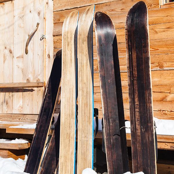 Skier Apres Ski