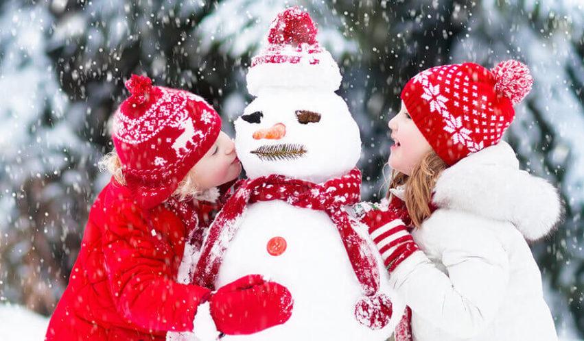 Winterzauber bei frostigen Temperaturen – die gelungene Schneeparty für Kinder