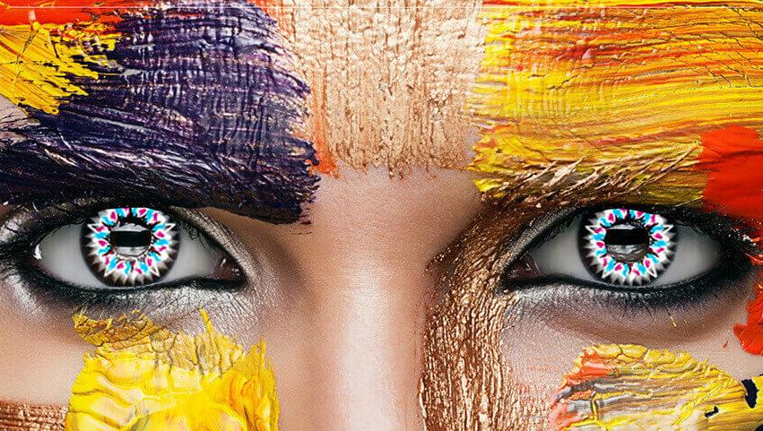 Ein richtiger Augenschmaus – farbige Kontaktlinsen für intensive Augenblicke