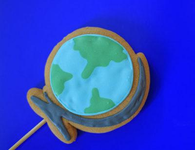 Kekse-Motiv-Globus
