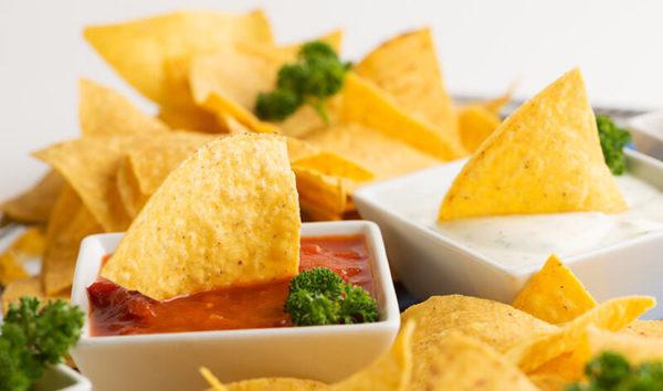 Tortillas Nachos für Party