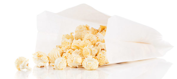 Popcorn Tüte Hollywood Party Snack