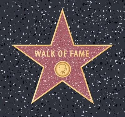 Stern Walk of Fame zur Filmparty