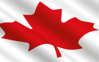 Canada day Flagge