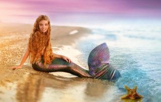 Kinderparty Meerjungfrau Deko