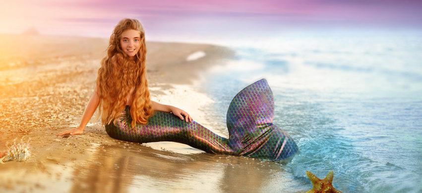 Schillernde Schönheiten: Meerjungfrauen zum Geburtstag