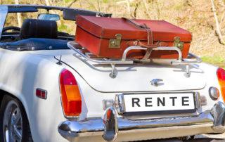 Verreisen in der Rente