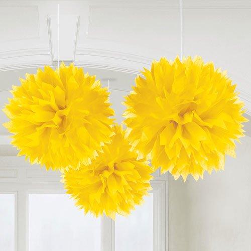 Gelbe Tissue Bälle