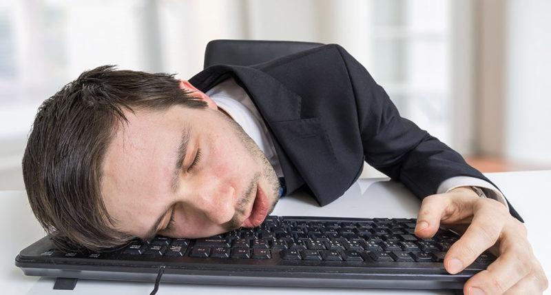 Einschlafen am PC