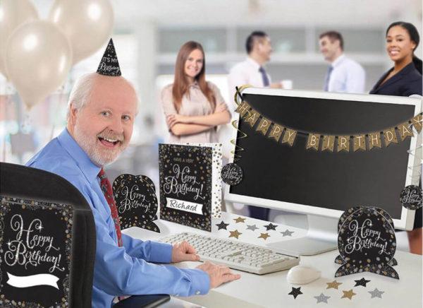 Deko zum Geburtstag eines Kollegen