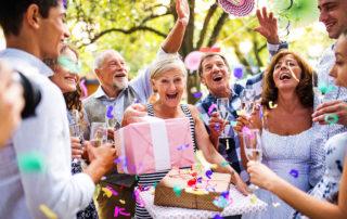 Geburtstagsfest mit Familie