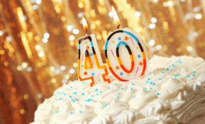 Du wirst 40? Wenn dich deine Geburtstagsparty so richtig anmacht