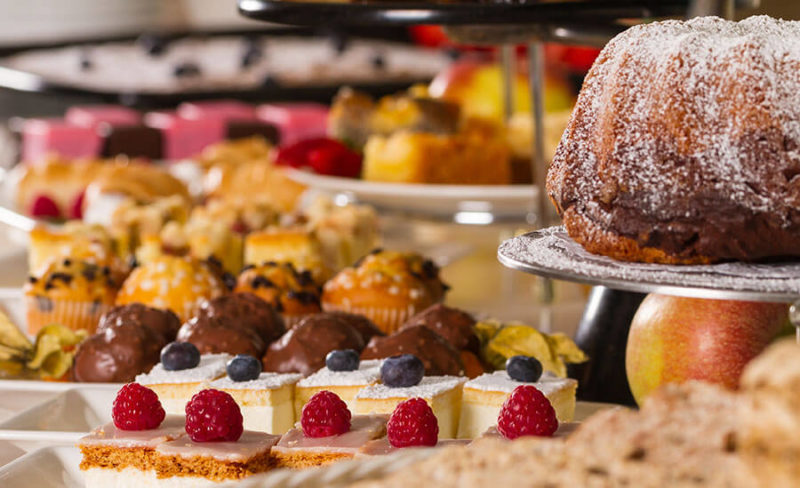 Kuchen-Bufett