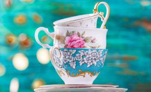 Zuckersüße Teeparty zum 80er feiern