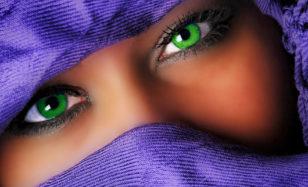 Bunte Kontaktlinsen: Huch  wer bist du denn?